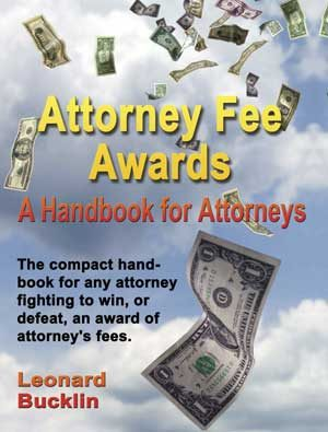 Attorney Fee Awards Handbook from Lawyer Trial Forms