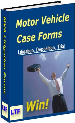 Motor Vehicle Accident Forms from Lawyer Trial Forms